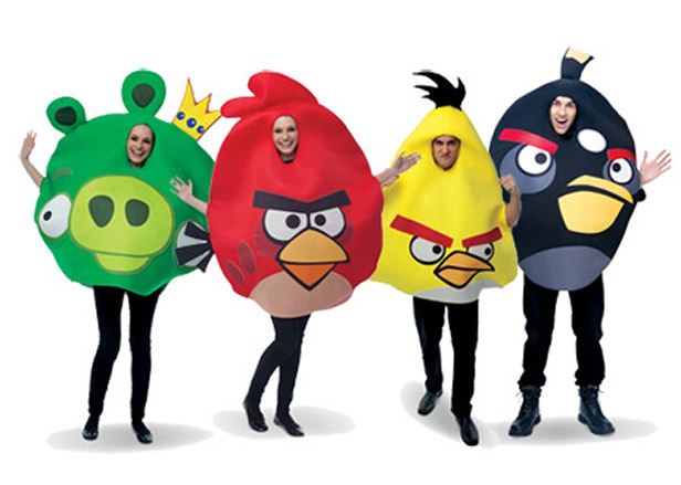 Disfraz-Angry Birds