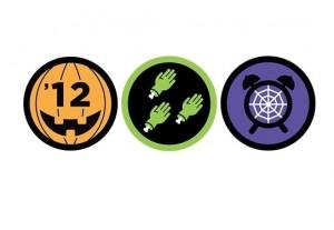 Foursquare se disfraza de Halloween con tres badges especiales