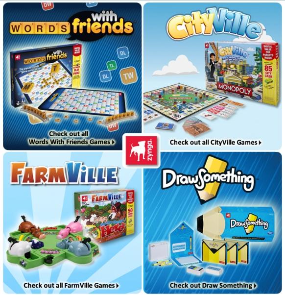 Hasbro Convierte Las Apps Y Juegos Sociales De Zynga En Juegos De