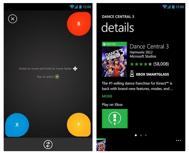 Xbox SmartGlass ya está disponible para Android