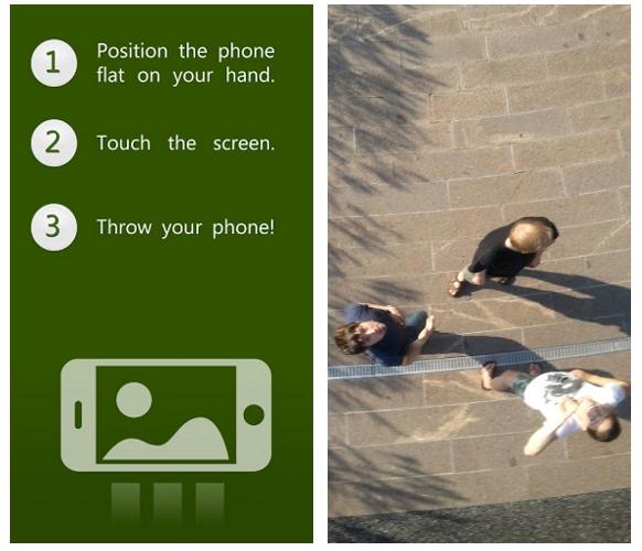 ThrowMeApp: una app fotográfica solo para 'lanzados'