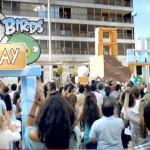 Los Angry Birds hacen escala en el Metro de Madrid