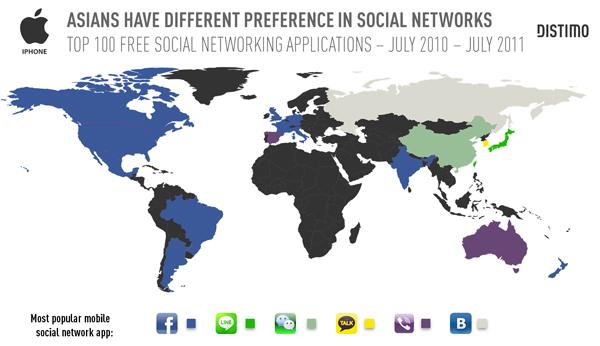 Las descargas de aplicaciones de redes sociales se disparan en la App Store