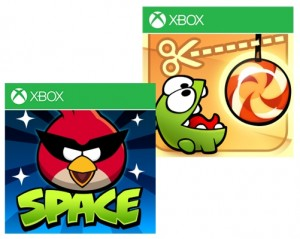 Angry Birds Space y Cut The Rope llegan a Windows Phone