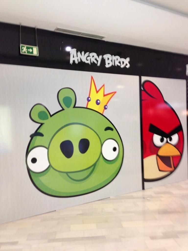 La primera tienda española de Angry Birds se abrirá en La Vaguada