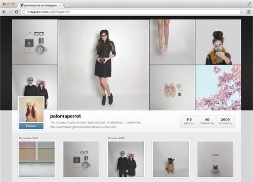 Instagram añade perfiles web