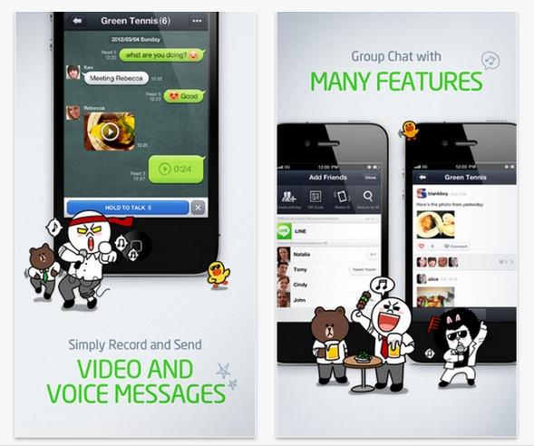 ¿Es Line un rival para WhatsApp?