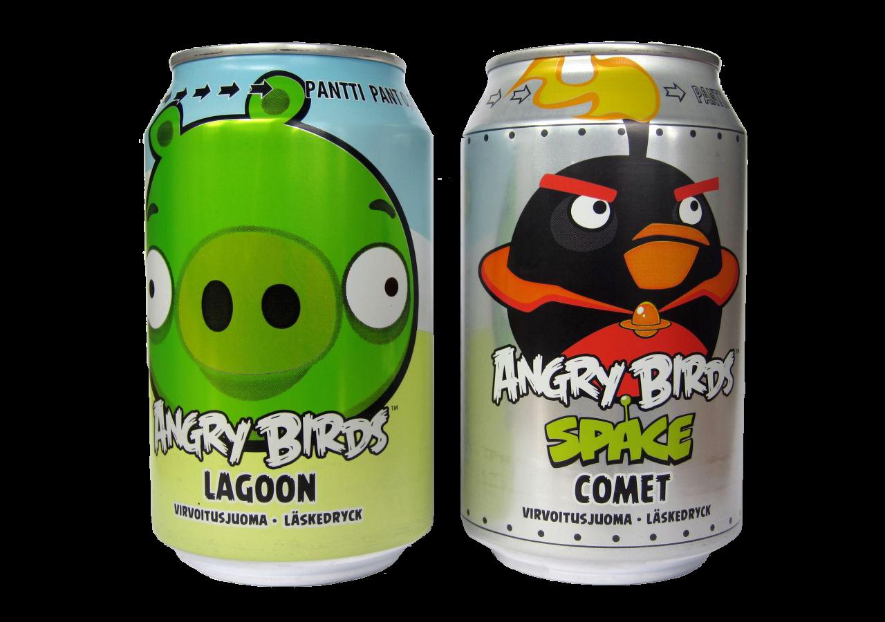 La soda de los Angry Birds ya es la bebida más vendida en Finlandia