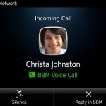 El nuevo BlackBerry Messenger 7 incluye llamadas gratis mediante WiFi