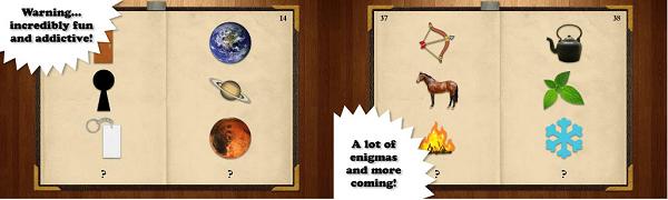 libro de enigmas app screen