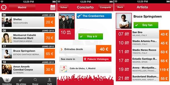 Nvivo, una aplicación para no perderse ningún concierto