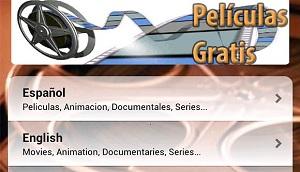 peliculas gratis app