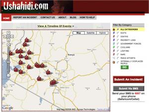 Ushahidi, una aplicación para el cambio social, se presenta en Madrid