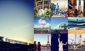 Los lugares más fotografiados con Instagram en 2012