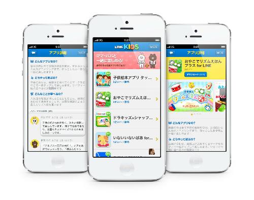 Line Kids, mensajería instantánea para niños