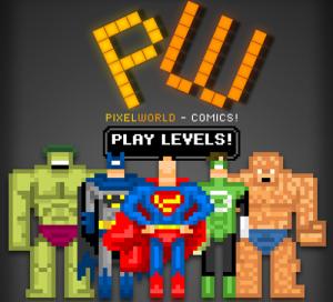 Estética retro, cómics y series de tv se mezclan en los adictivos juegos Pixel World #1 y #2