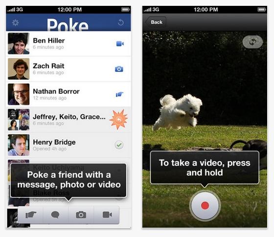 Facebook lanza Poke, una aplicación de iOS para enviar mensajes perecederos