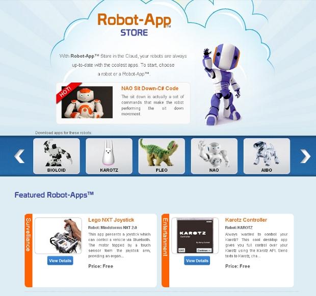 Robot App Store, el primer marketplace de aplicaciones para robots