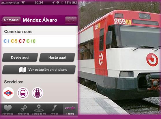Las Cercanías de Renfe estrenan app oficial