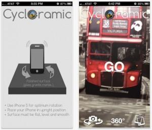 Graba panorámicas automáticas con tu iPhone gracias a Cycloramic