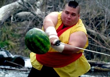Vídeo: ¿Cómo sería Fruit Ninja en el mundo real?
