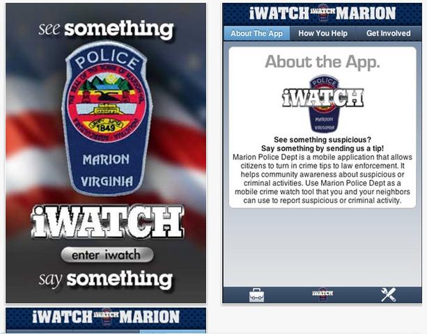 Una app para luchar contra el crimen
