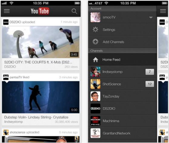Google presenta la nueva app de YouTube para iPad