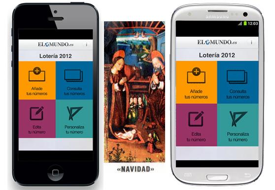 Una app para que sepamos si nuestro décimo de la Lotería de Navidad ha resultado premiado