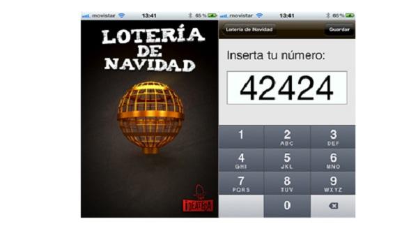 loteria navidad iphone