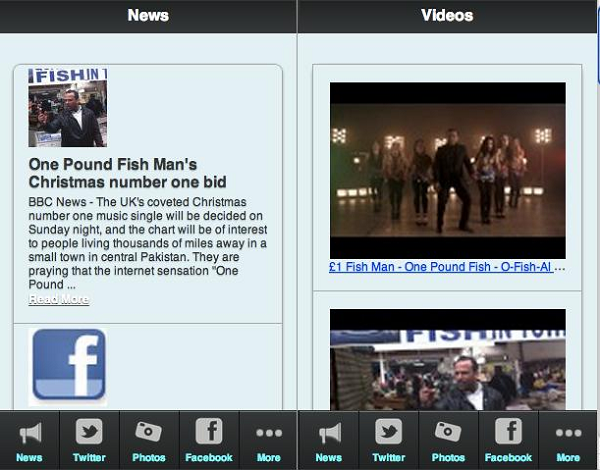 one pound fish man app screen