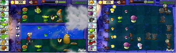 plants vs zombies pantallazo