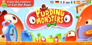 De los creadores de Cut the Rope llega Pudding Monsters