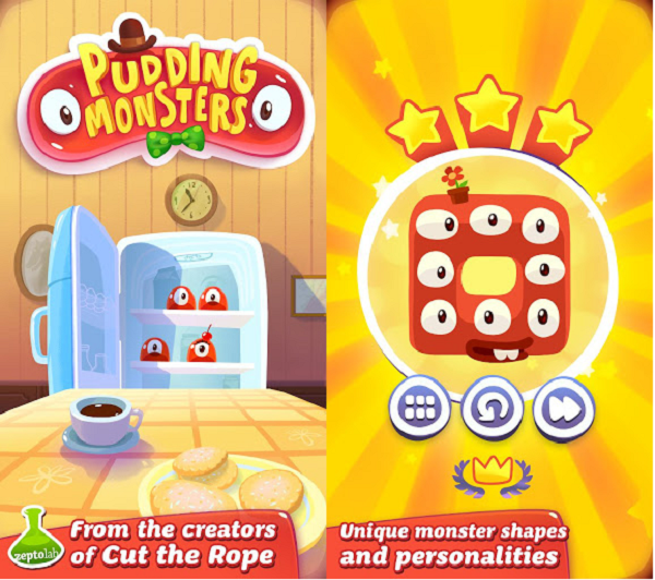 pudding monsters screen