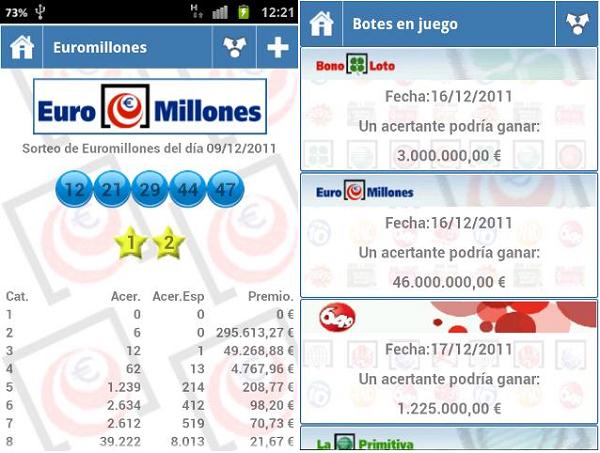 resultados loterías y apuestas app