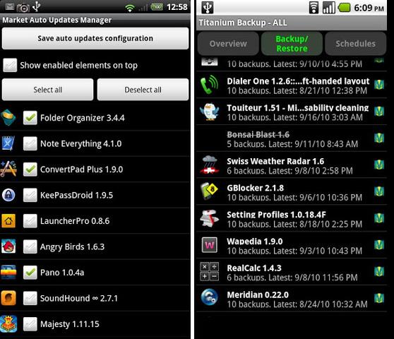 Titanium Backup PRO lidera las descargas de aplicaciones de pago de Google Play