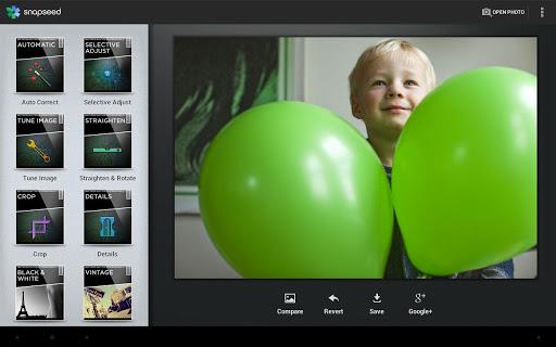 La app fotográfica Snapseed ya está disponible para Android