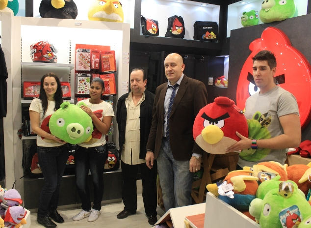 Así es la primera tienda española de Angry Birds