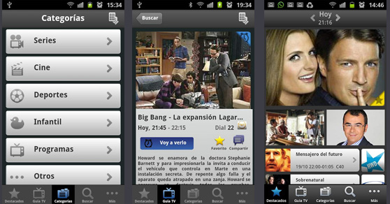 Evomote transforma tu smartphone en una guía de televisión