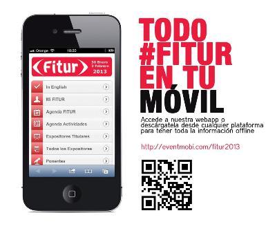 Descubre FITUR 2013 a través de su app oficial... o alguna de las oficiosas