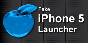 Fake iPhone 5 app