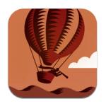 La app de la red social Geonick para iPhone e iPad apuesta por la estética retro y la geolocalización
