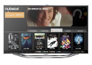 Nubeox llega a las Smart TV de Samsung