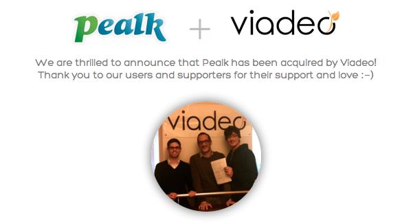 La red profesional Viadeo adquiere Pealk, una aplicación de reclutamiento en redes sociales