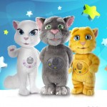 Talking Tom y Talking Ginger, de juegos para smartphones a juguetes reales