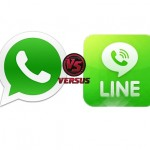 Infografía: WhatsApp VS Line