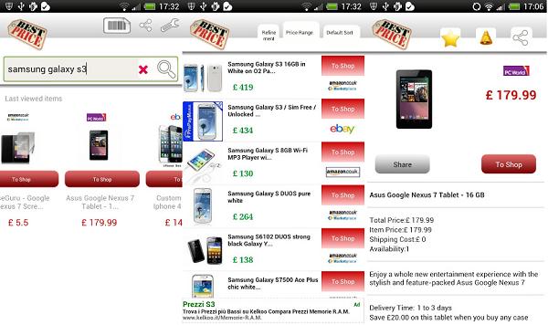 comparador de precios app