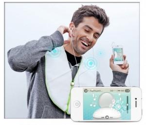 iMusic Body Rhythm, un chaleco controlado por una app que vibra al ritmo de tu música