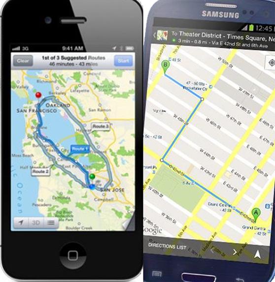 Según la OCU, el Galaxy S3 de Samsung es mejor que el iPhone 5 de Apple