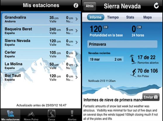 Las mejores apps para ir a la nieve (1)
