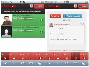 Kazajob se hace con el premio Infojobs App Challenge